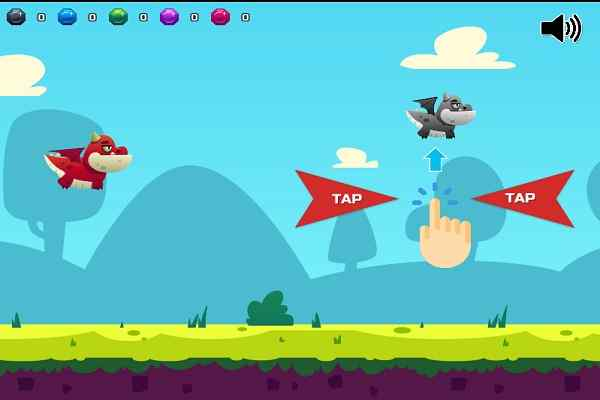 Play Flappy Dragon 2