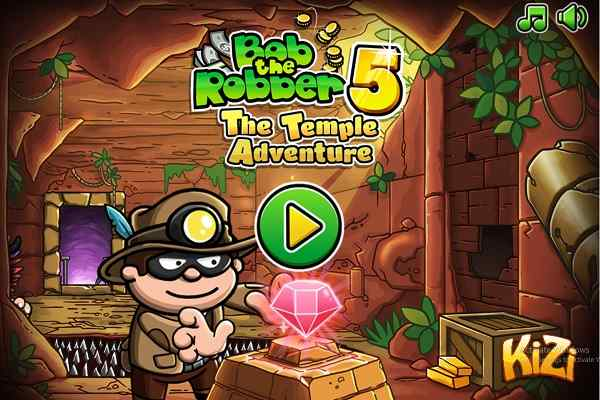 Play Bob The Robber 5 Temple Adventure