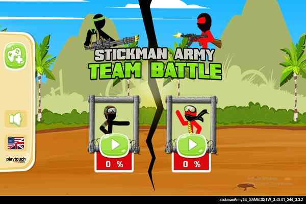 Play Stickman Army  Team Battle