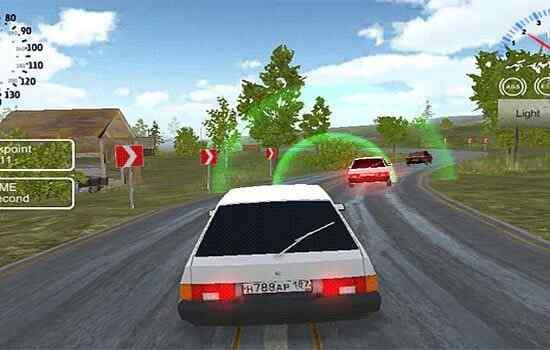 Play Russian Car Driver HD