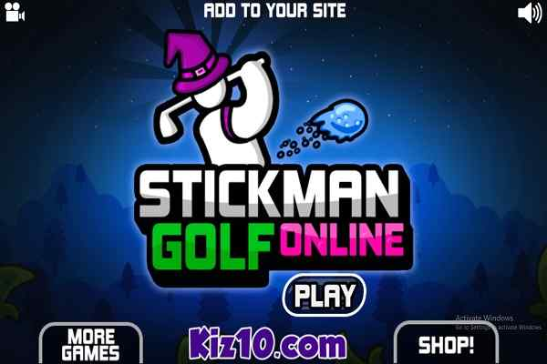 Play Stickman Golf Online