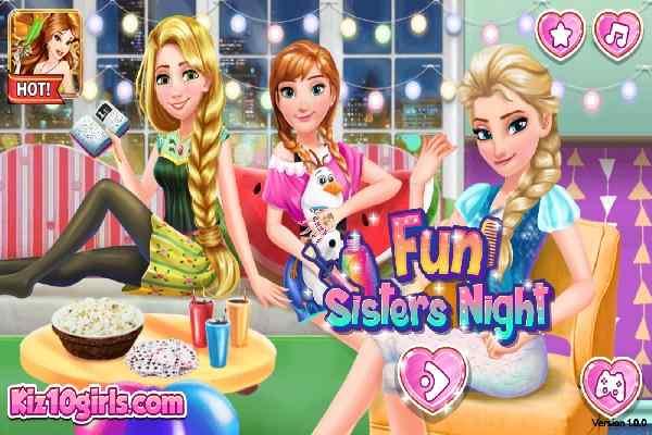 Play Fun Sisters Night
