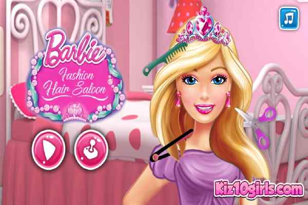 Play Barbara Fashion Hair Saloon