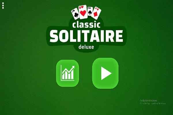 Classic Solitaire Deluxe Games Play Online Free Atmegame Com