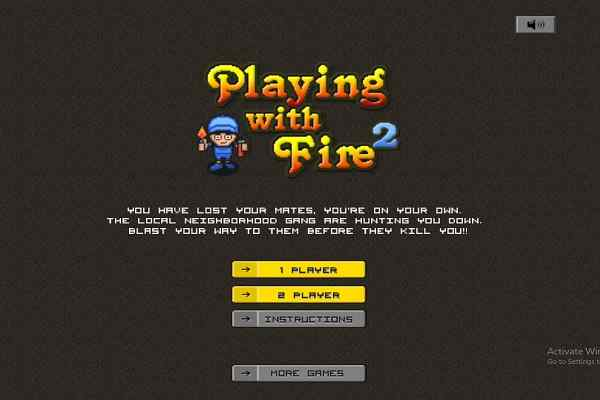 Free games playing with fire 2 adventure 2 players games