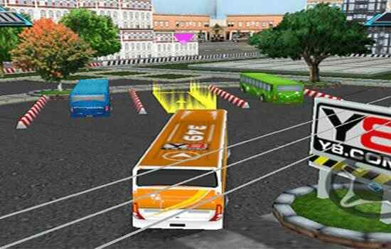 Play Bus Parking 3D World 2
