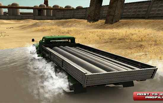 Play Truck Driver Crazy Road 2