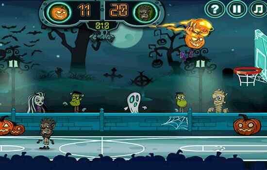 Play Halloween Basketball Legends