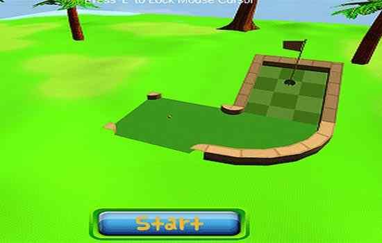 Play Mini Golf 3D