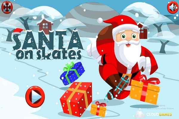 Play Santa on Skates