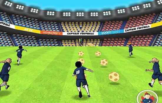 Play Captain Football Euro 2016