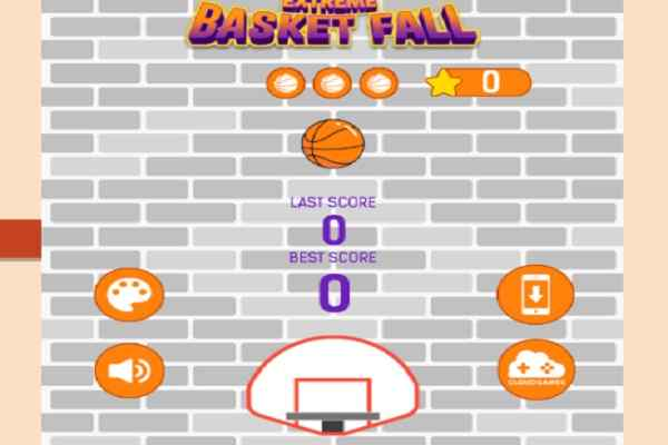 Play Basket Fall 2