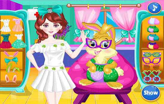 Play Baby Easter Bunny Rescue