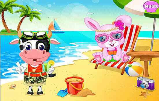 Play Talking Pet Summer Vacation