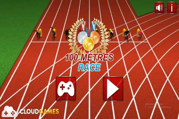 Play 100 Meters Race