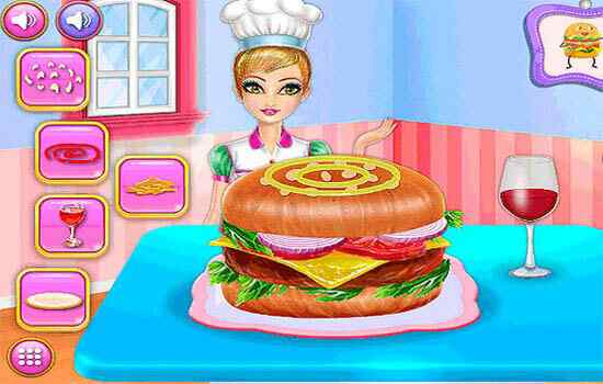 Play American Recipe Cheese Burger