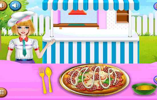 Play Delicious Cheese Pizza Cafe