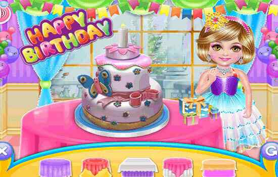 Play Marlee�s Birthday Cake Party