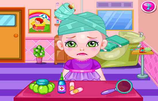 Play Baby Hair Doctor