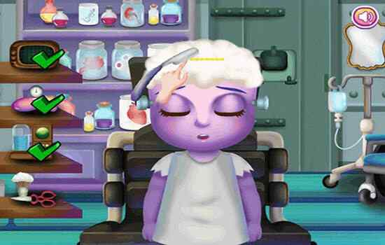 Play Little Brain Doctor Mobile