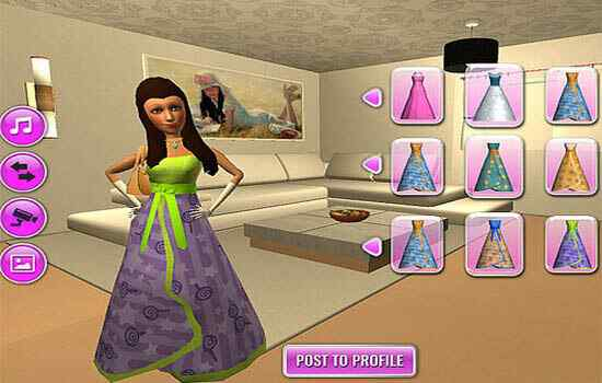 Play Hannah Dress Up