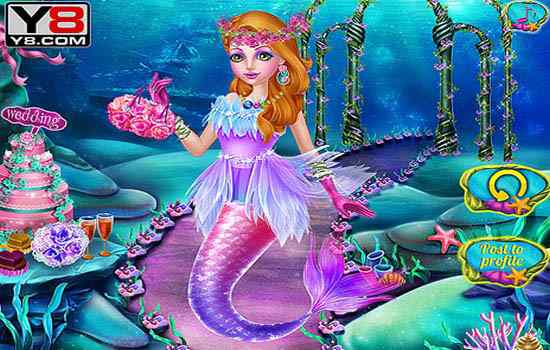 Play Mermaid Princess Wedding
