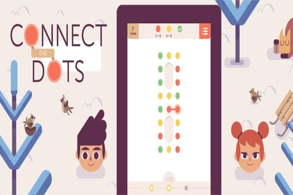 Connect The Dots Games Play Online Free Atmegame Com