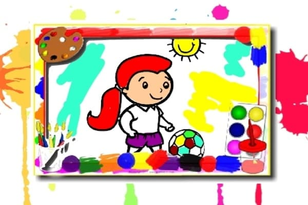 Football Coloring Book Games - Play Online Free : Atmegame.com