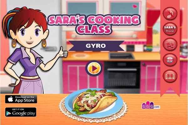 Play Gyros: Sara�s Cooking Class