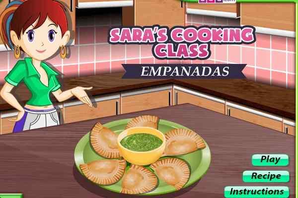 Play Empanadas Sara Cooking Class