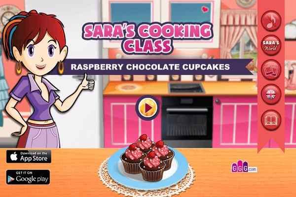 Play Sara Chocolate Cupcakes