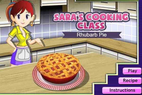 Play Sara's Rhubarb Pie