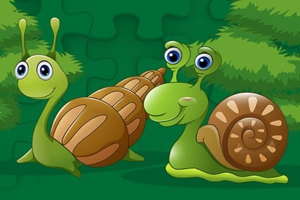 Cute Snails Jigsaw, Puzzle Games - Play Online Free