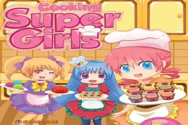 Play Cooking Super Girls
