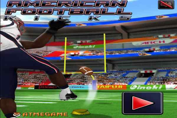 Play American Football Kicks