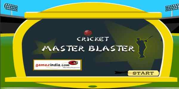 Play Cricket Master Blaster