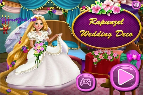 Play Rapunzel Wedding Decoration