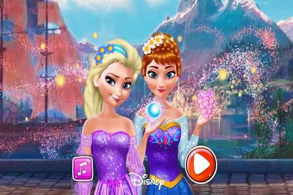 Play Anna & Elsa Makeover