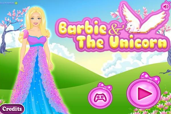 Barbie And The Unicorn Dressing Games Play Online Free Atmegame Com