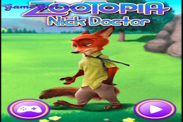 Play Zootopia Nick Doctor