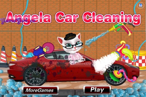Play Angela Car Cleaning