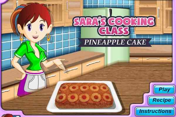 Play Sara Pineapple Cake