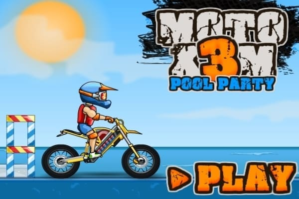 Play Moto X3M Pool Party