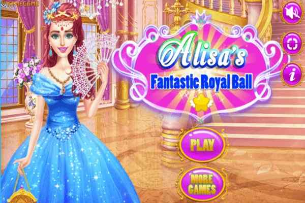 Play Alisa Fantastic Royal Ball