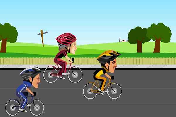 Play Cycle Racer