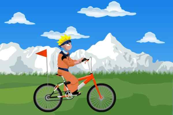 Play Naruto Bicycle