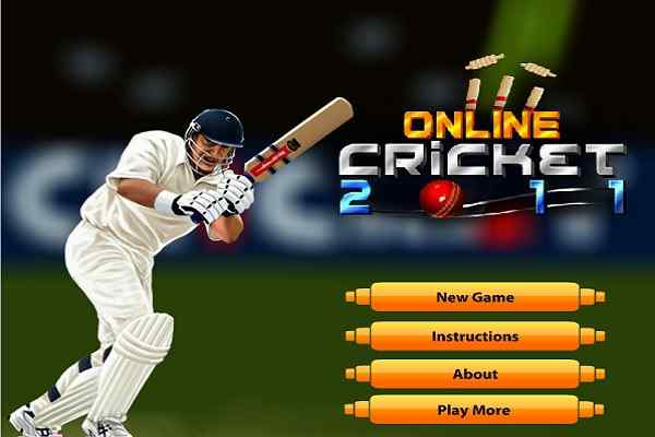 Play Online Cricket 2011