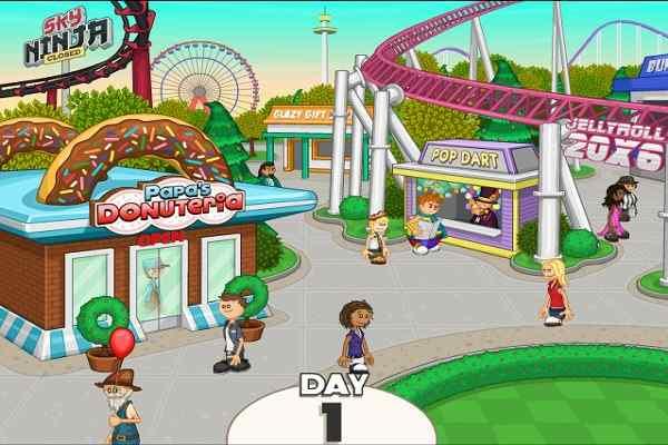 Play Papa's Donuterias