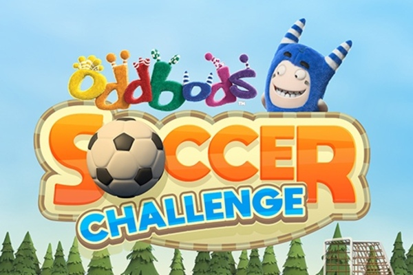 Play Oddbods Soccer Challenge