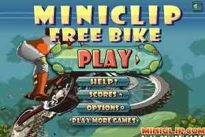 Play Miniclip Free Bike